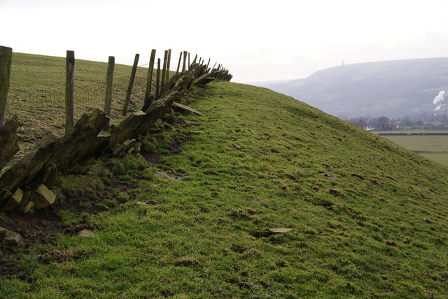 Vaccary wall above Dearden Clough