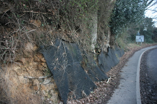 Slope stabilizer entering Hartfield