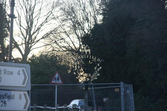Village Sign, Hartfield