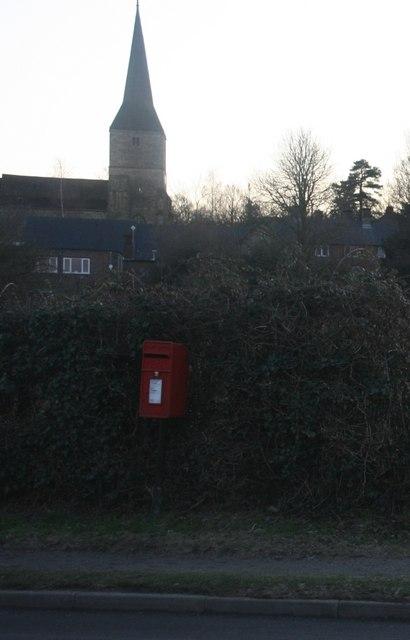 Postbox, Castlefields, Hartfield