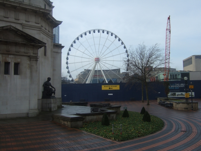 Building site for Birmingham Library