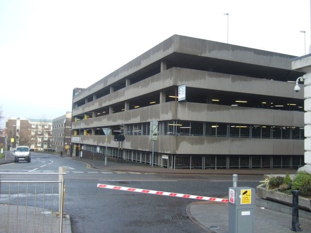 Car Park behind Baskerville House, Birmingham