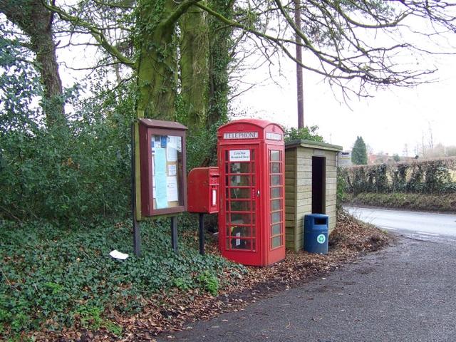 Village communications, Compton Abbas