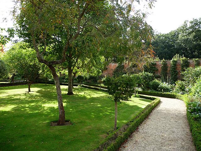 Buscot Park, walled garden