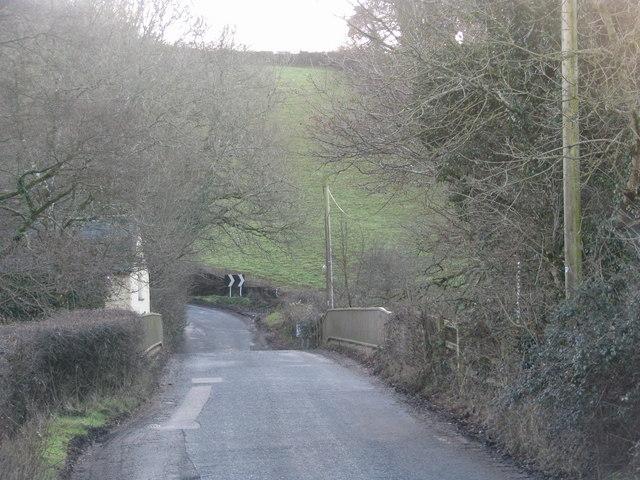 Bridge over the Little Dart south-east of Chulmleigh