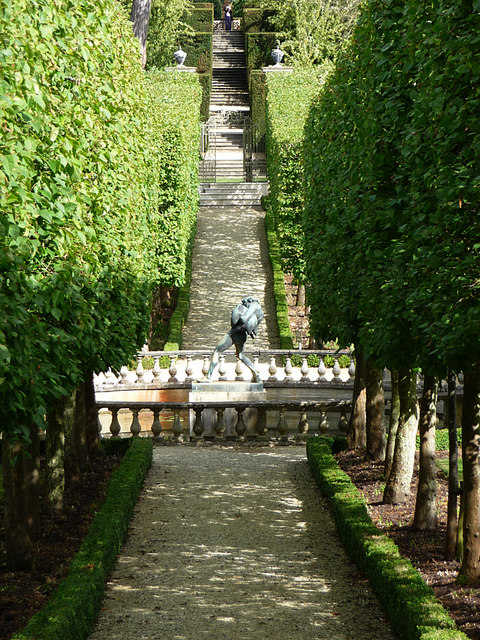 Buscot Park, walled garden