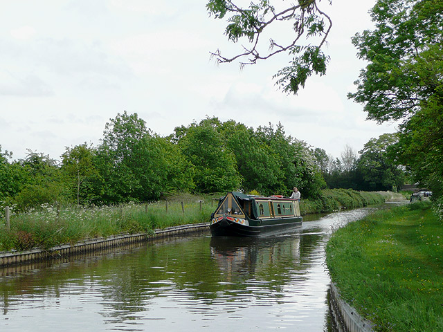 Llangollen Canal near Hurleston Junction, Cheshire