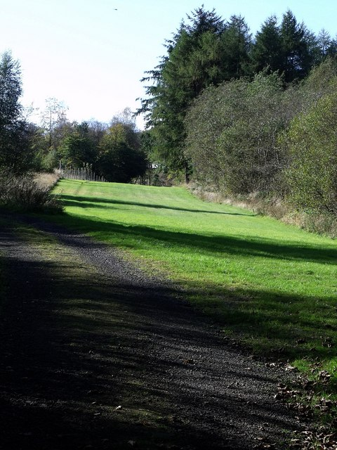 Military Way at Barr Hill