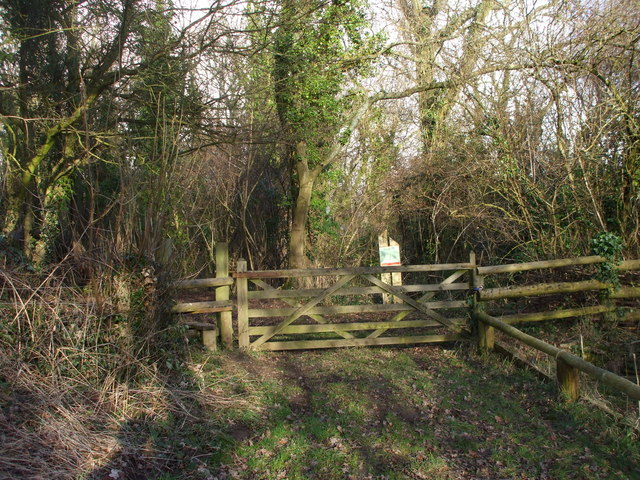 Entrance to Penhow Woodlands Nature Reserve