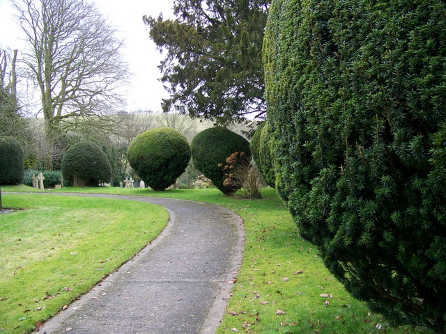 Path, St Mary's Church