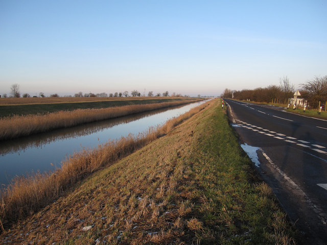 B1098 along Sixteen Foot Drain