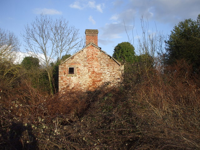 Derelict house, Bowdens Lane