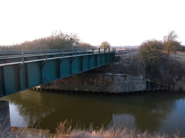 Stonea railway bridge