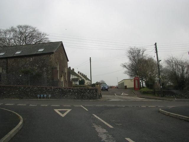 Lapford Cross