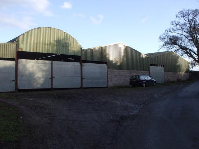 Farm buildings, Bowdens Lane