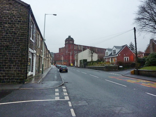 Market Street, Whitworth