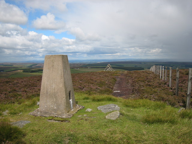 Trig point and currick on Bolt's Law