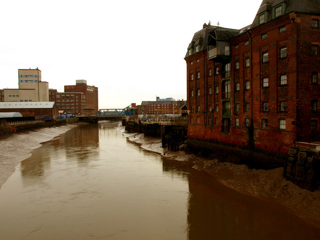 The River Hull from North Bridge