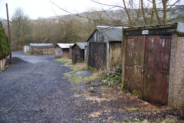Garage site at Townsend Fold