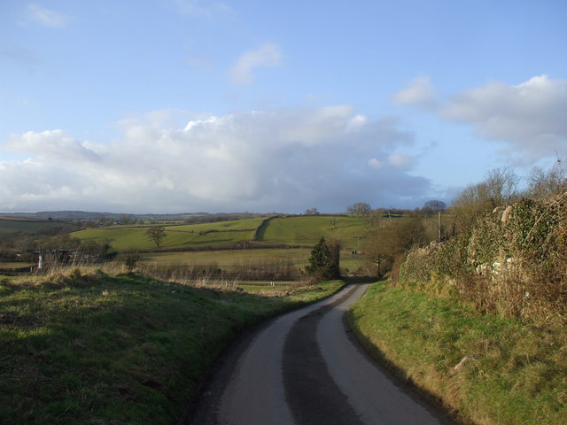 Lane from Upper Grange Farm