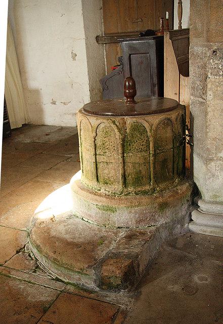 St.Michael's font