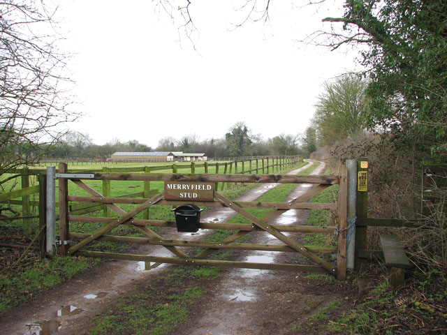 Entrance to Merryfield Stud