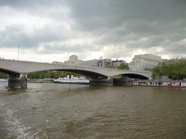 Waterloo Bridge from The Thames