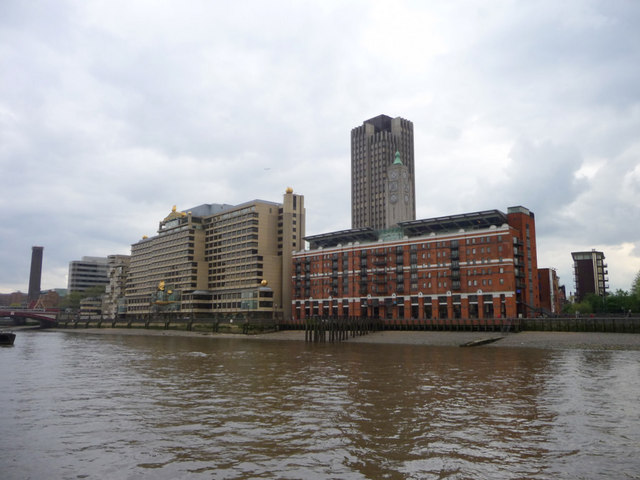Oxo Tower and Sea Containers House, London SE1