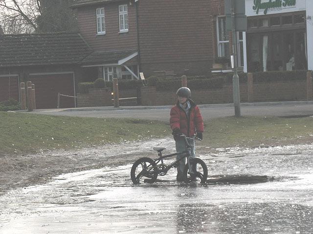 Riding on thin ice