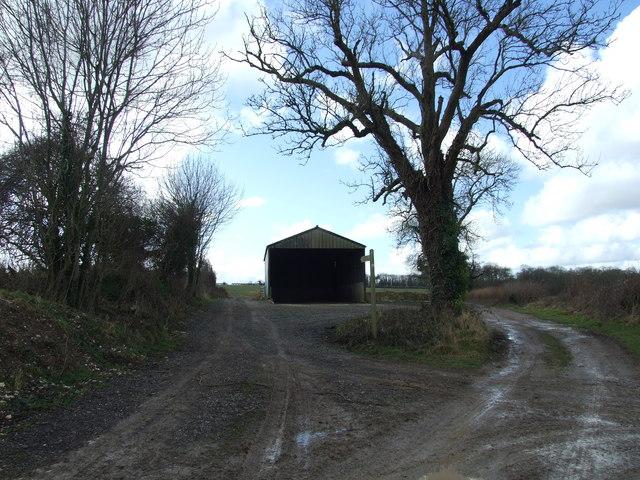New Barn NW of Chettle