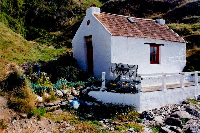 Niarbyl - One-room fisherman's cottage