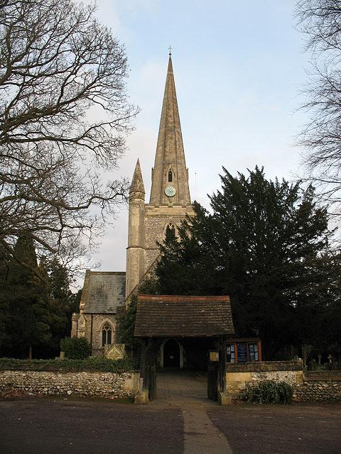 St Andrew's church, Kingswood