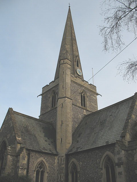 Tower of St Andrew's church, Kingswood