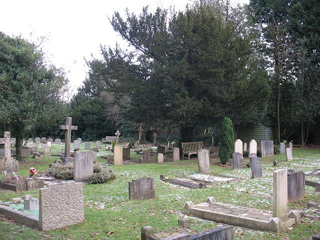 St Andrew's churchyard, Kingswood