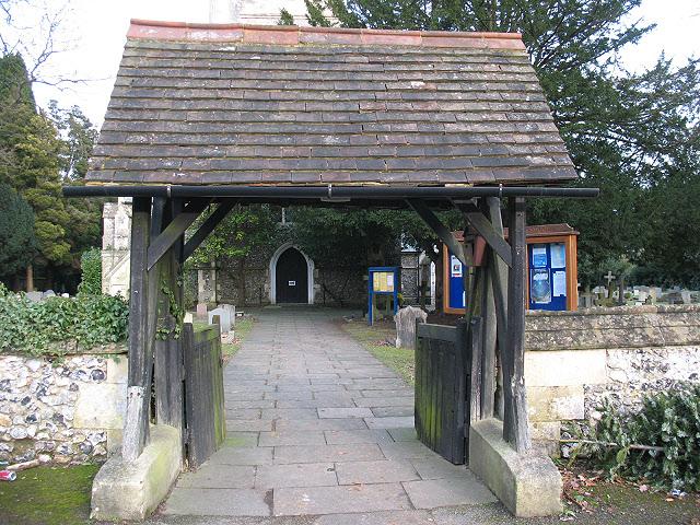 Lychgate of St Andrew's church, Kingswood