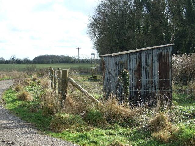 Tin Hut near Tarrant Gunville