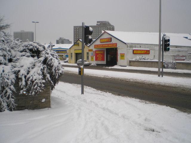 Causewayend in the snow