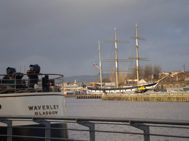 The Glenlee at Yorkhill Quay
