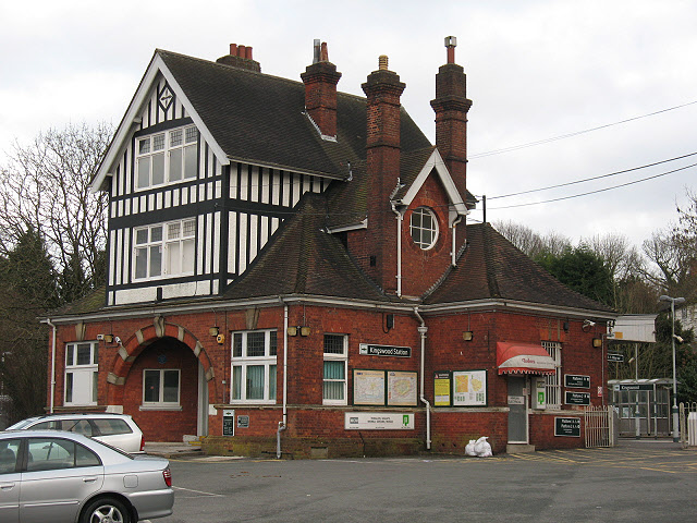 Kingswood railway station: buildings
