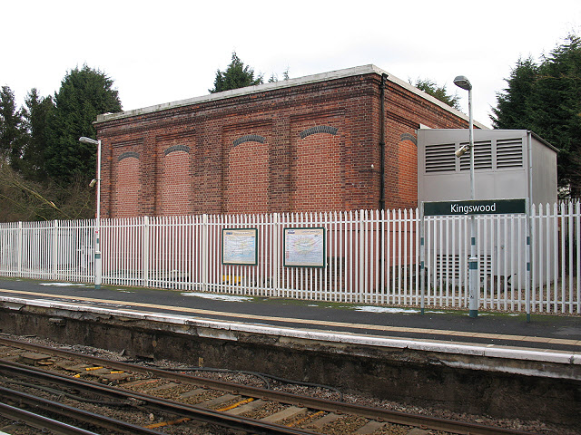 Railway substation at Kingswood