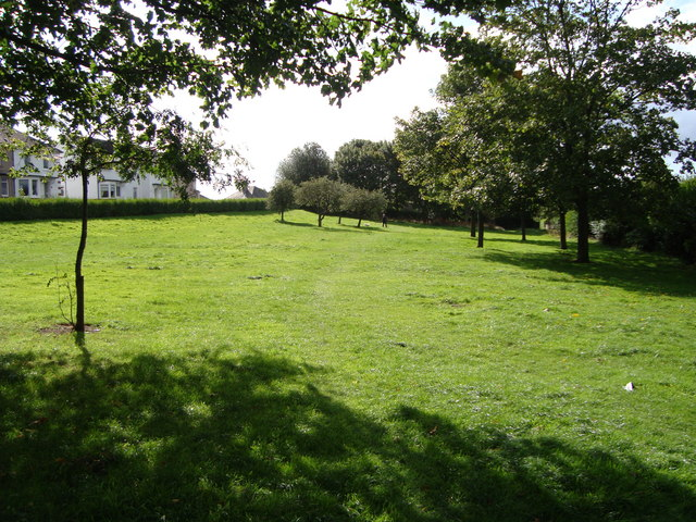 "Sandyhills Park, also known as ""the Wee Park"""