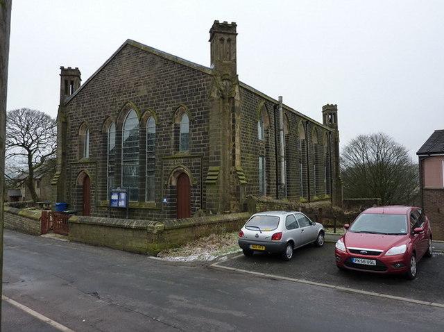 St Mary & All Saints Church, Goodshaw