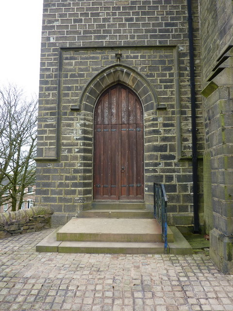 St Mary & All Saints Church, Goodshaw, Doorway