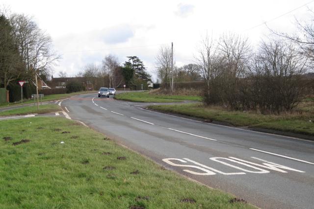 A445 past Bubbenhall