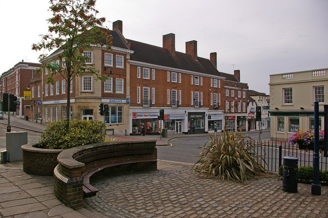 Junction of Bell Street and High Street