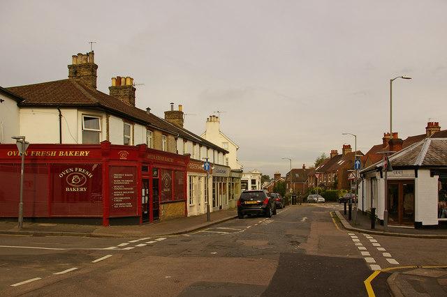 Lesbourne Road shops
