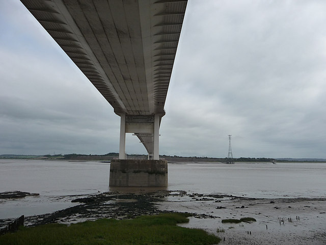 River Severn and bridge from Beachley