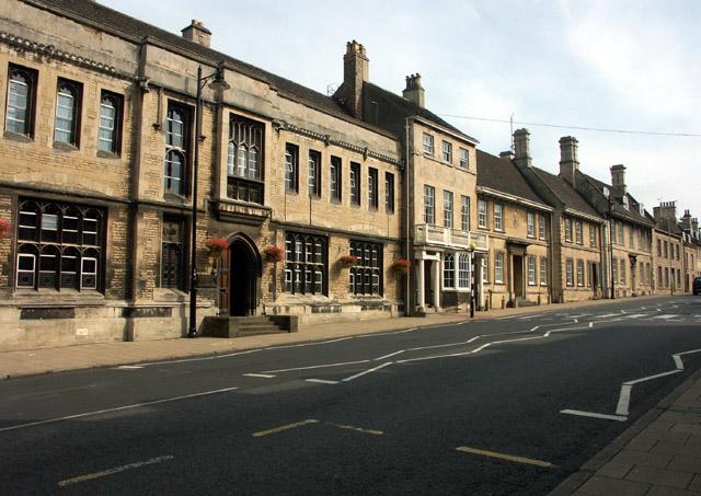 Houses on St. Martin's, Stamford