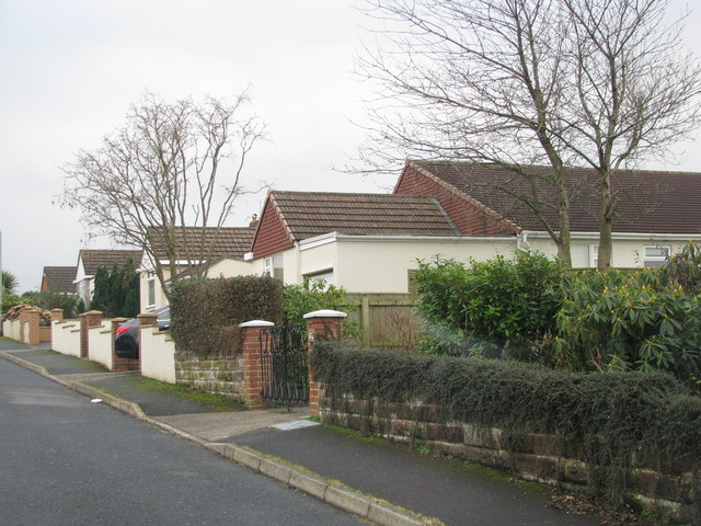 Bungalows on the outskirts of South Molton