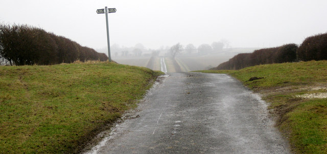'Crossroads' between Sotby and Sturton